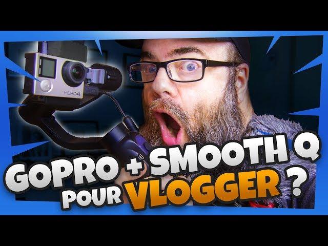 Vlogger avec une GOPRO (Boya BY-MM1 & Smooth Q)