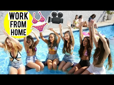 BEHIND THE SCENES of Work From Home COVER by Niki and Gabi