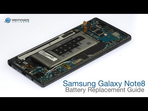 Samsung Galaxy Note8 Battery Replacement Guide - RepairsUniverse
