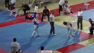 47kg SEMIFINAL - Esma Nur Ersoy vs Senizcan Aras (2017 Turkish Cadet TKD Championships)