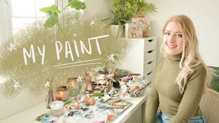 My ENTIRE Paint Collection | 100,000 Subs Special