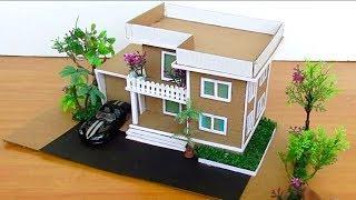Beautiful DIY Mansion Villa House from Cardboard #108 | Crafts Ideas