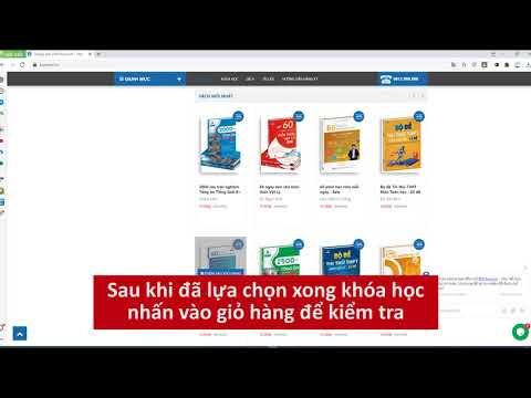 Hướng dẫn đăng ký tài khoản và mua khóa học trên Bschool.vn