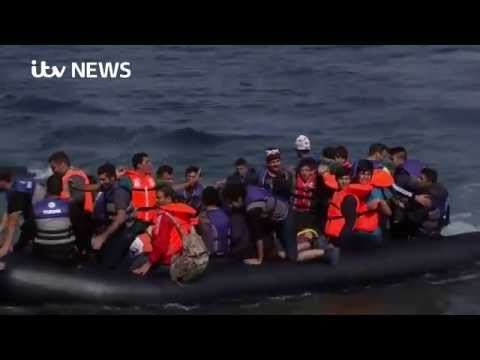 24 hours on the frontline of Europe's refugee crisis