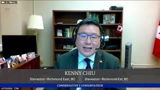 2020 09 12 HoC 43 MP Chiu gives speech on Bill C 7