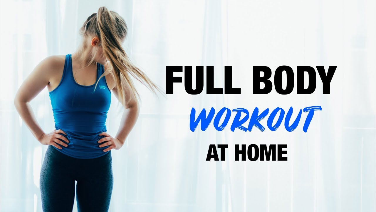 FULL BODY Workout NO EQUIPMENT | At Home, Simple & Intense !