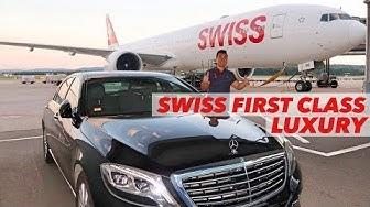 SWISS B777 First Class Luxury Flight Zurich to Hong Kong