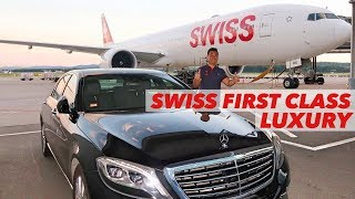 SWISS B777 First Class Luxury Flight Zurich to Hong Kong