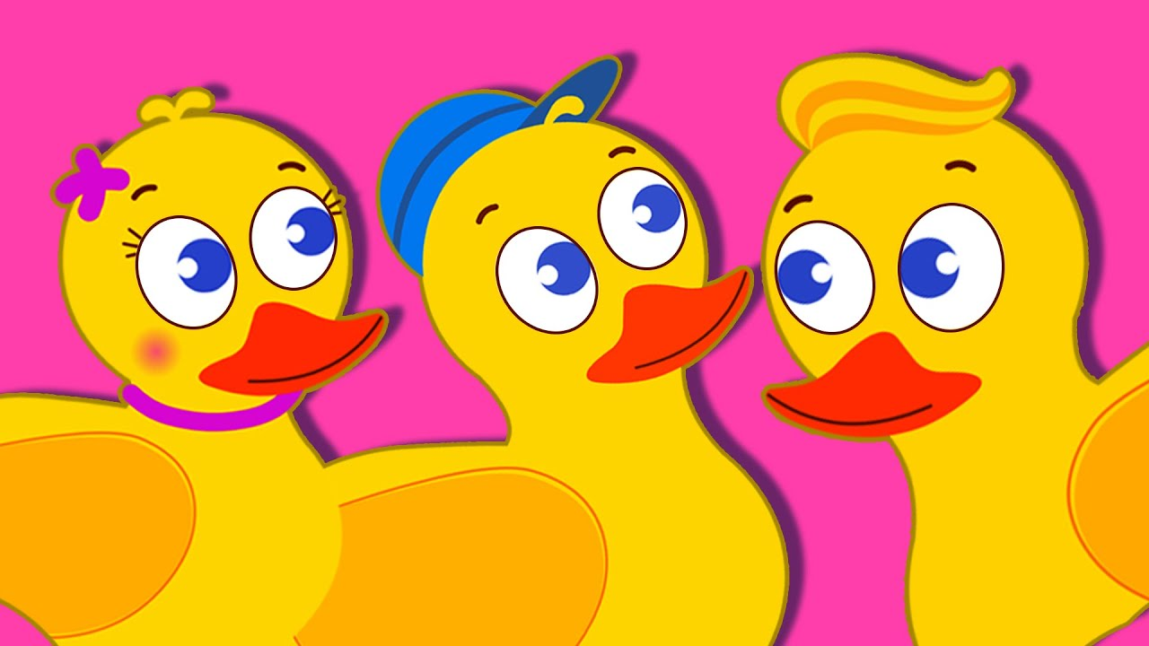 Five Little Ducks Nursery Rhyme   English Songs For Kids By Captain Discovery