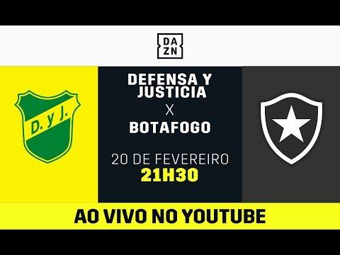 Def. y Justicia x Botafogo AO VIVO e DE GRAÇA! Assista aqui com o DAZN!