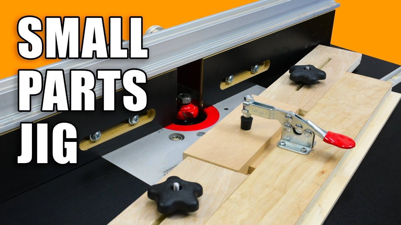 Small Parts Holding Router Jig For Your Router Table Youtube