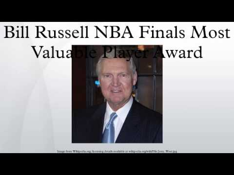 Bill Russell NBA Finals Most Valuable Player Award