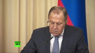 Пресс-конференция глав МИД России и Австрии
