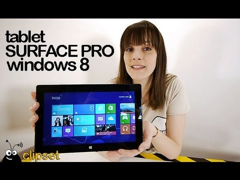 Surface Pro tablet Windows 8 Microsoft review Videorama