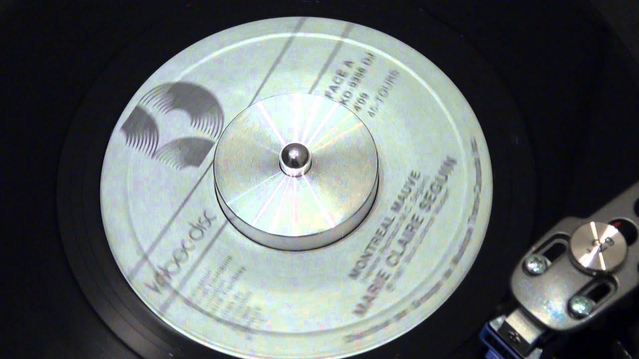 MARIE-CLAIRE SÉGUIN - Montréal mauve - 1987 - KEBEC-DISC - YouTube
