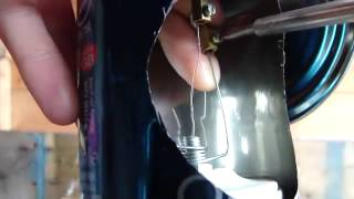 Construction d'un petit moteur a eau