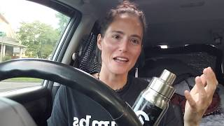 Living in My Car - my MUST haves!