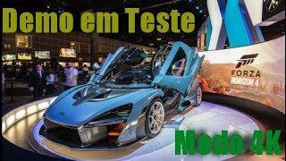 Forza Horizon 4 Demo Modo Qualidade 4K/30 frames pt-br