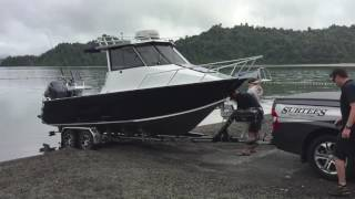2017 Hutchwilco New Zealand Boat Show Grand Prize Launching