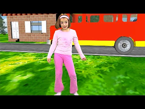 Thumbnail: The Wheels on The Bus | Zouzounia feat. Anna Rose & Amanda