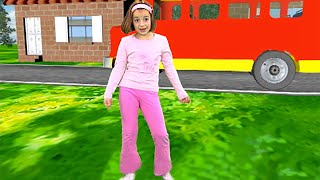 Zouzounia feat. Anna Rose & Amanda - The Wheels On The Bus thumbnail