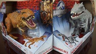 indominus rex vs t rex roaring sounds jurassic world