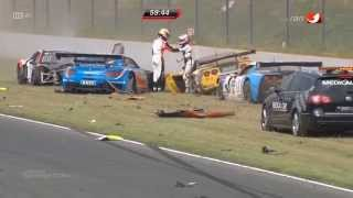 Repeat youtube video Huge Start Crash 2014 ADAC GT Masters at Oschersleben