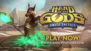 Hand of the Gods: SMITE Tactics - Official Release Trailer