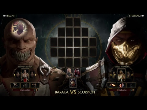 Mortal Kombat  trailer but with the right music