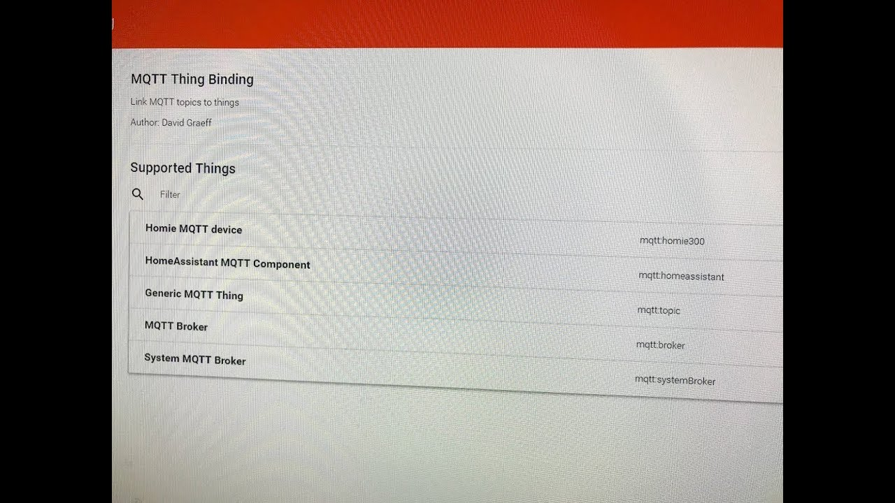 BK Hobby Live Stream #4 - openHAB Basics - MQTT v2 Binding