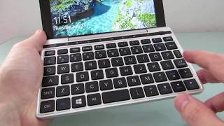GPD Pocket 2 keyboard and touch sensor