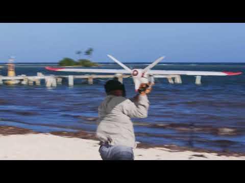 ZSL Amphibious Drone Patrols over Belize Marine Area