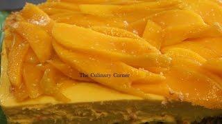 Mango Cheese Cake (No Bake)