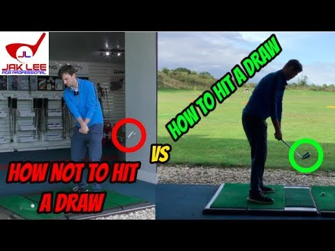 HOW TO HIT A DRAW SHOT VS HOW NOT TO HIT A DRAW SHOT