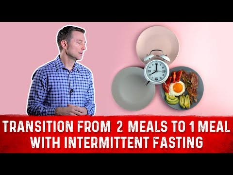 How to Transition From 2 Meals to 1 Meal Per Day with INTERMITTENT FASTING