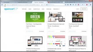 Урок 5. Поиск шаблонов и дополнений OpenCart