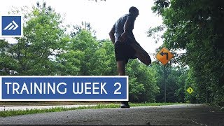 Marathon Training Week 2 // Full Body Lift Session & Active Rest Day Workout