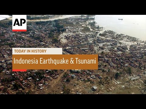 Indonesia Earthquake and Tsunami - 2004 | Today in History | 26 Dec 16