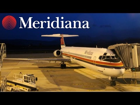 FLIGHT REPORT / RETRO MERIDIANA MD-82 / OLBIA - MILAN