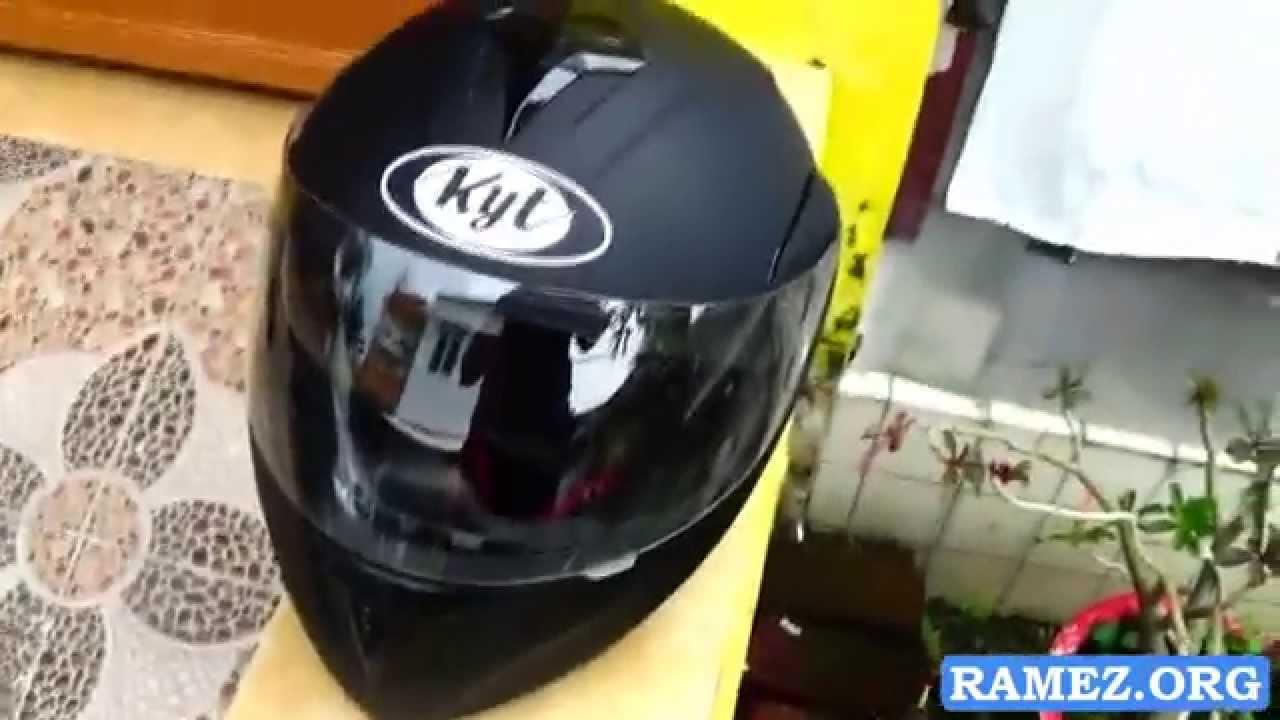 Helm KYT Full Face Half Helmet