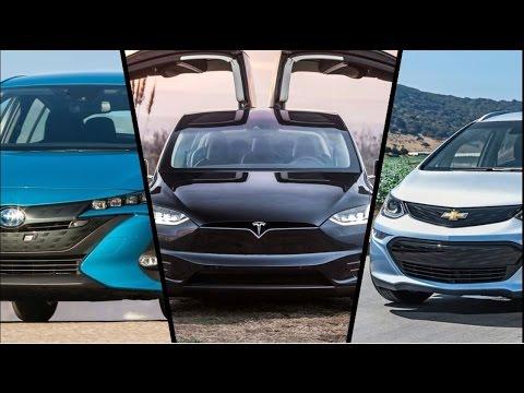 Electric Car Review 2017 Tesla Model X Chevrolet Bolt Ev Toyota Prius Prime