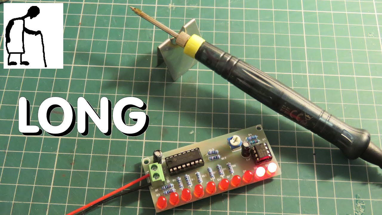 Long Version Grandads Postbag Combined Assembly And Test Led Diy So The Leds Are Not Over Driven 555 Ic Projects 4017ic Kit Usb Soldering Iron