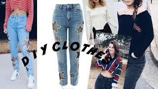DIY Thrift Store Clothes 2018!