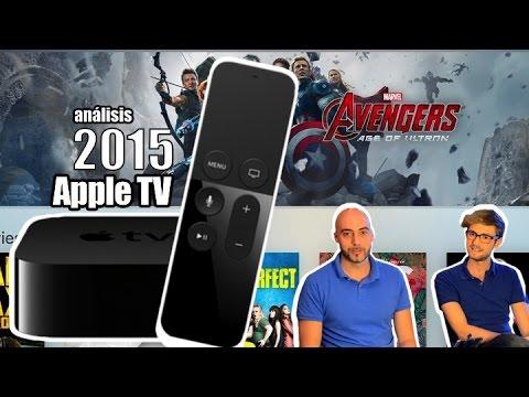 Nuevo Apple TV 4 de 2015 en español, análisis a fondo