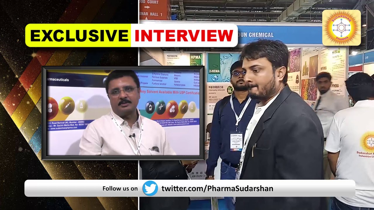 Sudarshan Pharma's Customers review in Chemspec 2019