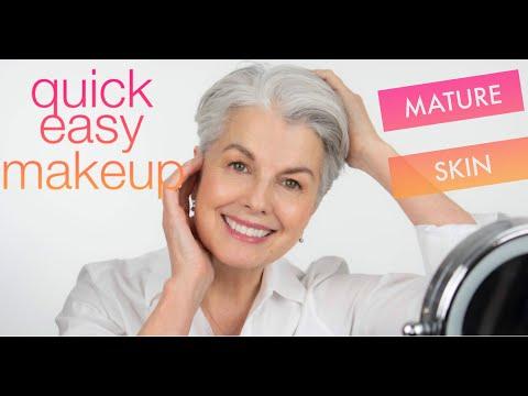 Simple Makeup Tutorial for Mature Skin by Kerry-Lou - Using Cream Makeup