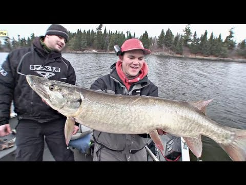 """""""Tip-up Kids, First Ice Crappie & Last Chance Musky"""" Full Length (TV Show 4) - Uncut Angling"""