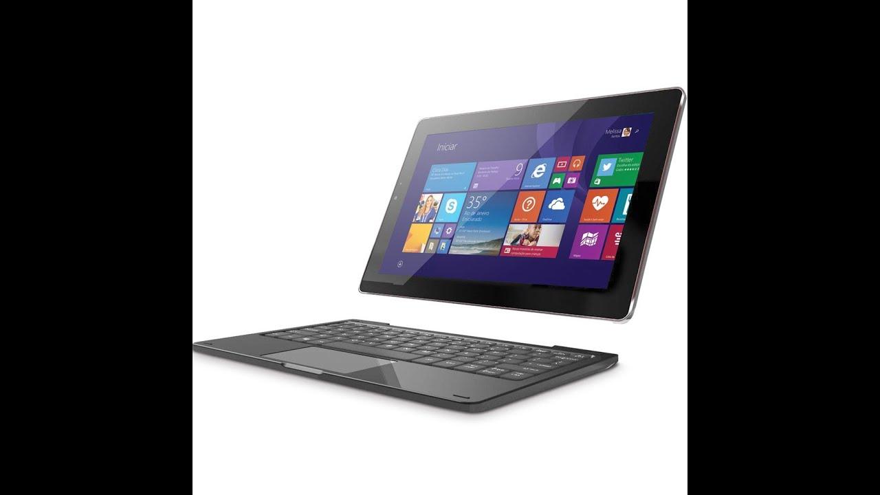 Tablet Qbex Nextbook 2 em 1 - How to format/install/update - Como  formatar/instalar/atualizar