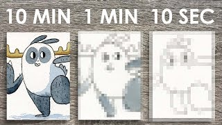 One of Kasey Golden's most viewed videos: 10 MINUTE, 1 MINUTE, 10 SECOND CHALLENGE (Watercolor Edition!)