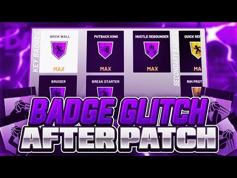 NEW* NBA 2K19 BADGE GLITCH AFTER PATCH 1 09 MAX BADGES in 45